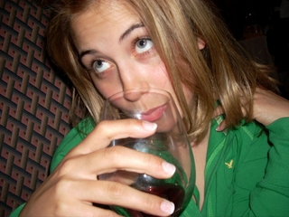 File:Sarah Drinking Wine.jpg